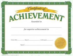 OfficialAchievementCertificate