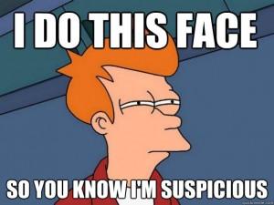 suspicious-fry