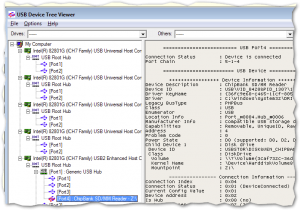 USB Device Tree Viewer